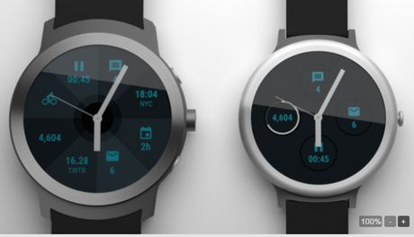 Google se phat hanh 2 smartwatch vao dau nam 2017 - Anh 2