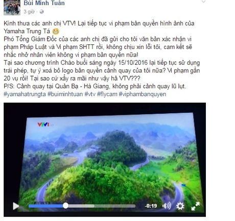 Bui Minh Tuan to VTV vi pham ban quyen, nha dai phan bac - Anh 1