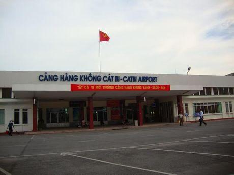 Tam ngung duong bay den Hai Phong vi bao Sarika - Anh 1