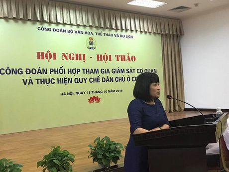 Hoi thao Cong doan Bo Van Hoa, The thao & Du lich - Anh 2