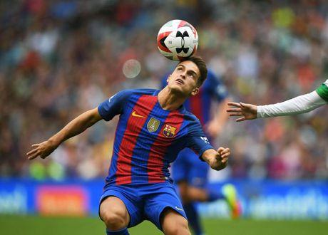 Denis Suarez da tran gap Man City, Barcelona mat bon tien - Anh 1