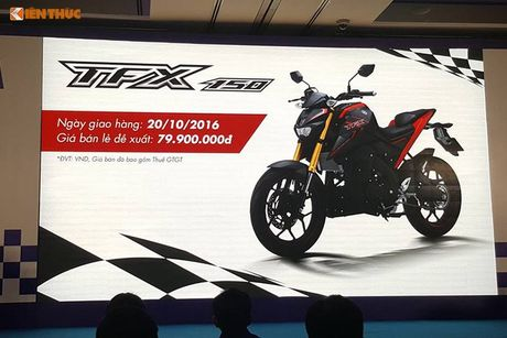 Yamaha Viet Nam 'chot' TFX 150 gia 80 trieu dong - Anh 1