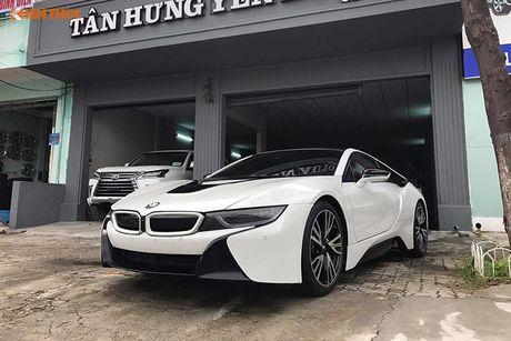 Sieu xe BMW i8 tri gia tien ty 'cap ben' Da Thanh - Anh 1