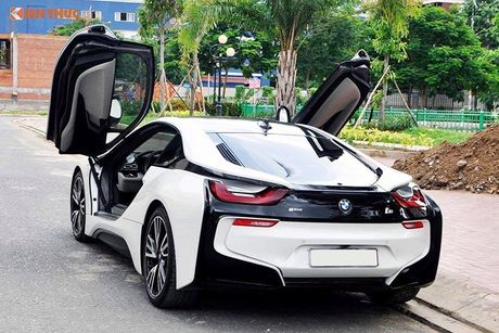 Sieu xe BMW i8 tri gia tien ty 'cap ben' Da Thanh - Anh 4