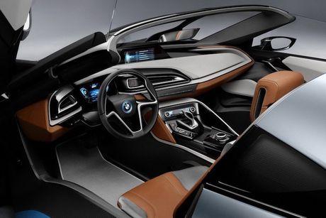 Sieu xe 'xanh' BMW i8 se co ban mui tran Roadster - Anh 4