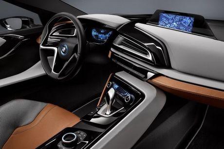 Sieu xe 'xanh' BMW i8 se co ban mui tran Roadster - Anh 5