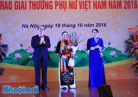 16 tap the, ca nhan nhan Giai thuong Phu nu Viet Nam nam 2016 - Anh 2