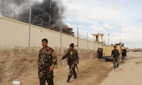 Afghanistan va Taliban tai dam phan bi mat tai Quatar - Anh 1