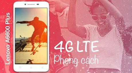 Lenovo A6600 Plus: smartphone 4G, gia duoi 3 trieu dong - Anh 1
