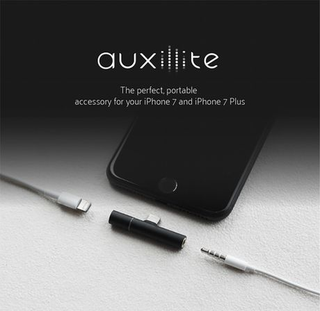 Auxillite: Adapter nho gon tich hop Lightning va cong 3.5mm cho iPhone, gia chi tu $13 - Anh 4