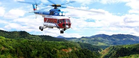 May bay truc thang mat lien lac tai Ba Ria-Vung Tau - Anh 1