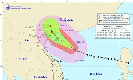 Bao so 7 cach Quang Ninh, Hai Phong 470km - Anh 2