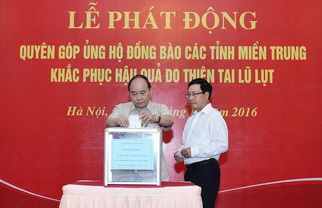Thu tuong keu goi ung ho dong bao mien Trung va yeu cau lam ro trach nhiem vu xa lu - Anh 1