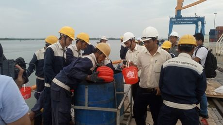 Quang Nam: Dien tap ung pho su co tran dau - Anh 2