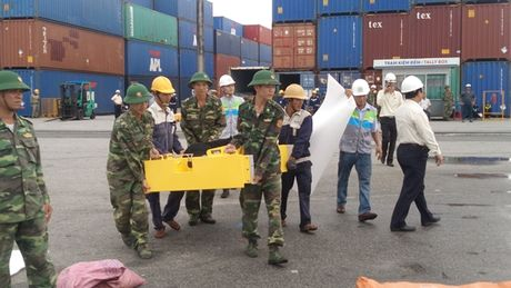 Quang Nam: Dien tap ung pho su co tran dau - Anh 4