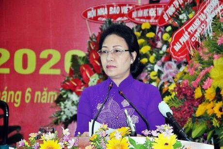 Chan dung ba Dang Tuyet Em, Chu tich HDND tinh Kien Giang - Anh 1