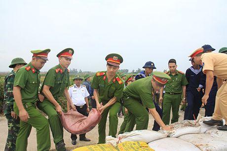 Luc luong Cong an Hai Phong va Quang Ninh ung truc han che thap nhat thiet hai do Bao so 7 gay ra - Anh 3