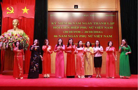 Hoi Phu nu cac don vi truc thuoc Bo truong mit tinh ky niem Ngay thanh lap Hoi Lien hiep phu nu Viet Nam - Anh 3