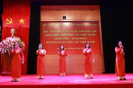 Hoi Phu nu cac don vi truc thuoc Bo truong mit tinh ky niem Ngay thanh lap Hoi Lien hiep phu nu Viet Nam - Anh 4