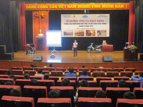 Tuyen duong cac HEAD xuat sac nhat trong Hoat dong Lai xe an toan Quy III/2016 - Anh 1