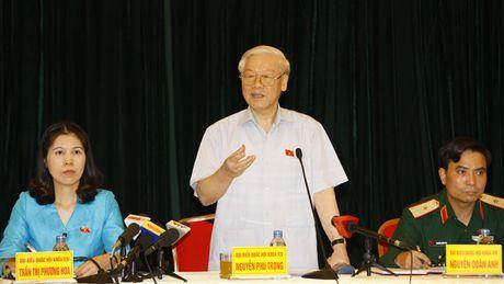 Tong Bi thu Nguyen Phu Trong: Trung uong guong mau thi dan moi tin - Anh 1