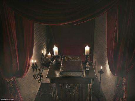 Lau dai Dracula mo cua cho khach vao ngu trong quan tai - Anh 6