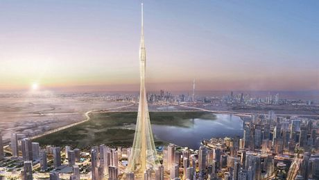 Dubai xay toa thap nghin ti do cao nhat the gioi - Anh 1