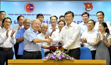 Day manh giao luu huu nghi thanh thieu nhi Viet Nam - Campuchia - Anh 1
