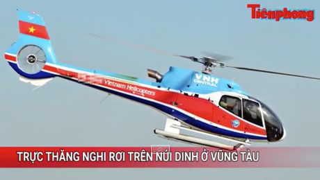 Tin nong 24H: Truc thang cho 3 nguoi mat lien lac tai Vung Tau - Anh 1