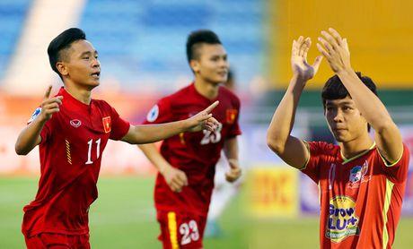 U19 hien tai vuot xa lua Cong Phuong o san choi chau A - Anh 1