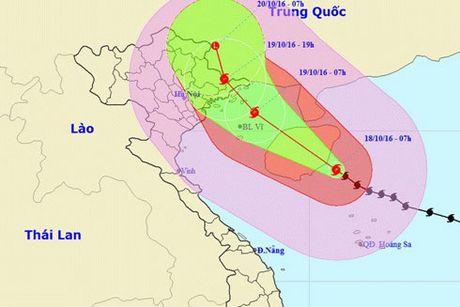 Bao so 7 chi con cach Quang Ninh-Hai Phong khoang 470km - Anh 1
