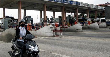 Tram thu phi Bac Thang Long Noi Bai vao dien giam sat dac biet - Anh 1