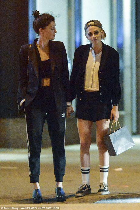Kristen Stewart tinh tu voi ban gai cu cua Cara Delevingne - Anh 5