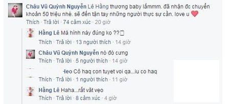 Mr. Dam noi an chan tien tu thien se bi qua bao, Minh Hang khong cong khai tien ung ho - Anh 3