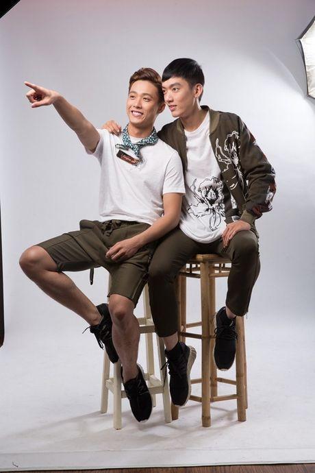 Cap doi dong tinh trai long ve vai dien gay chu y trong 'Sai Gon anh yeu em' - Anh 2