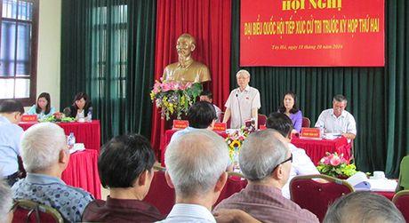 Tong Bi thu Nguyen Phu Trong: Phan anh toan mat xau, nguoi dan se mat long tin - Anh 1