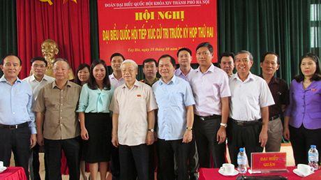 Tong Bi thu Nguyen Phu Trong: Phan anh toan mat xau, nguoi dan se mat long tin - Anh 3