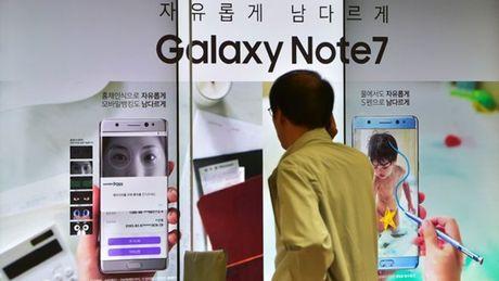 Su co Galaxy Note 7, Samsung Viet Nam anh huong nhu the nao? - Anh 1
