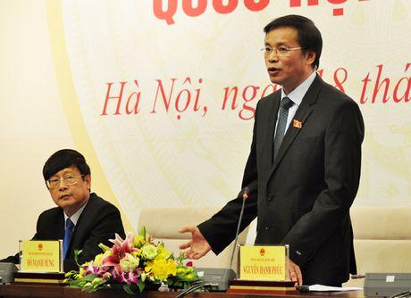 "Ky hop 2: Dai bieu Quoc hoi co the ""gio bien xin tranh luan"" - Anh 1"