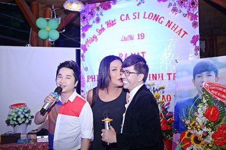 Trinh Kim Chi, Phi Thanh Van hoi ngo mung sinh nhat tuoi... 19 cua Long Nhat - Anh 13
