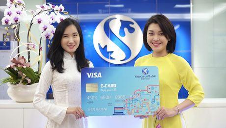Ngan hang Shinhan ra mat san pham E-card - Anh 1