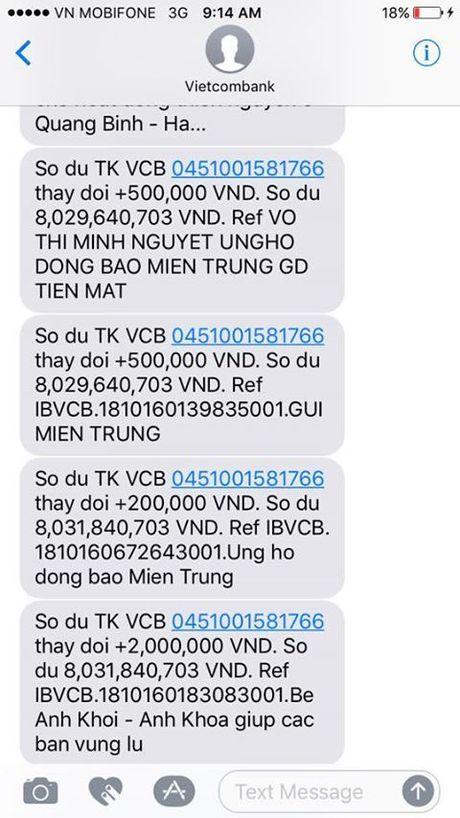 Tam an, mieng mim cuoi, MC Phan Anh da toi Quang Binh voi 9,3 ty dong - Anh 2