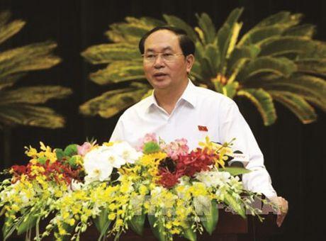 Chu tich nuoc Tran Dai Quang: Doanh nhan TP.HCM phai luon tien phong - Anh 2
