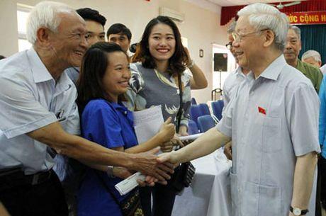 Tong Bi thu Nguyen Phu Trong: Phai co co che de khong dam tham nhung - Anh 1