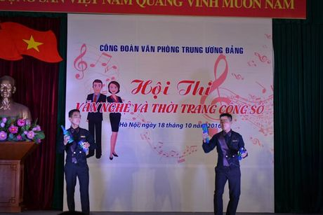 CD Van phong Trung uong Dang: To chuc Hoi thi 'Van nghe va thoi trang cong so' - Anh 3