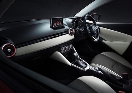 Mazda trinh lang phien ban nang cap Mazda2 - Anh 12
