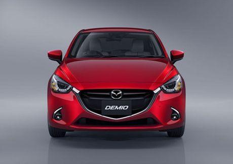 Mazda trinh lang phien ban nang cap Mazda2 - Anh 14