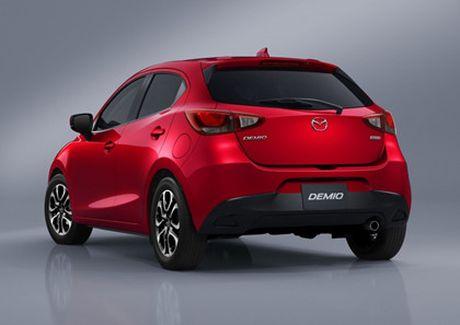 Mazda trinh lang phien ban nang cap Mazda2 - Anh 17