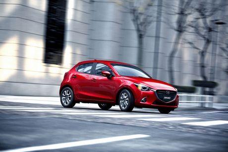 Mazda trinh lang phien ban nang cap Mazda2 - Anh 1