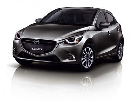 Mazda trinh lang phien ban nang cap Mazda2 - Anh 2